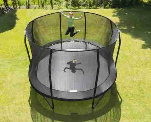 trampolino elastico ovale Jumpking grande