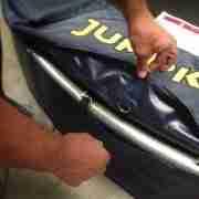 aggancio del cuscino in PVC