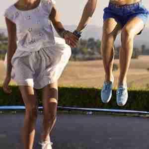 trampolini elastici ad uso pubblico