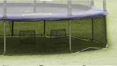 rete per tappeto elastico di protezione inferiore