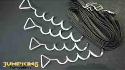 picchetti per ancorare tappeto elastico