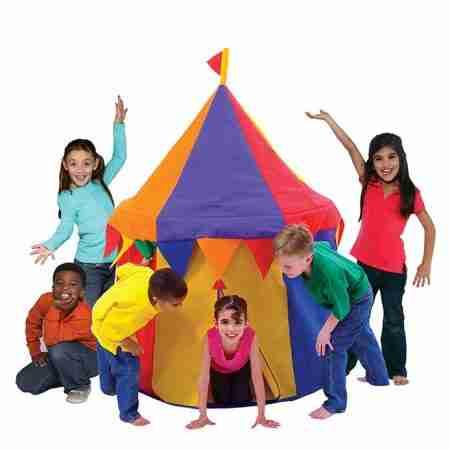tenda circo per gioco bambini
