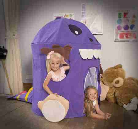 casetta dinosauro per bambini