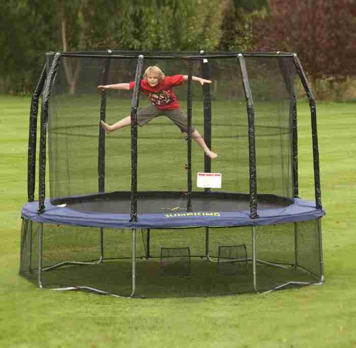 trampolino elastico professionale ad uso pubblico