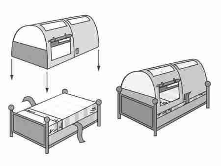 tenda da gioco istruzioni