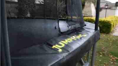 protezione in pvc trampolino elastico ovale