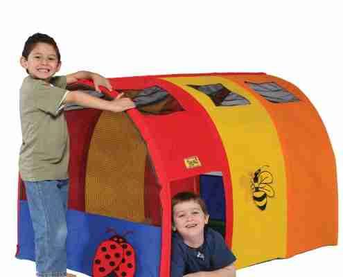 casetta tenda tunnel