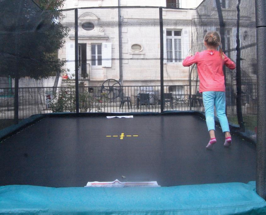 tappeto elastico rettangolare per bambini
