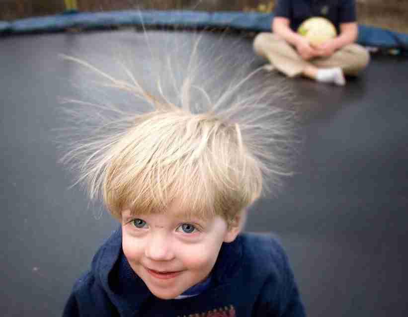 effetto capelli trampolino