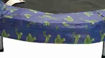cuscino per mini trampolino
