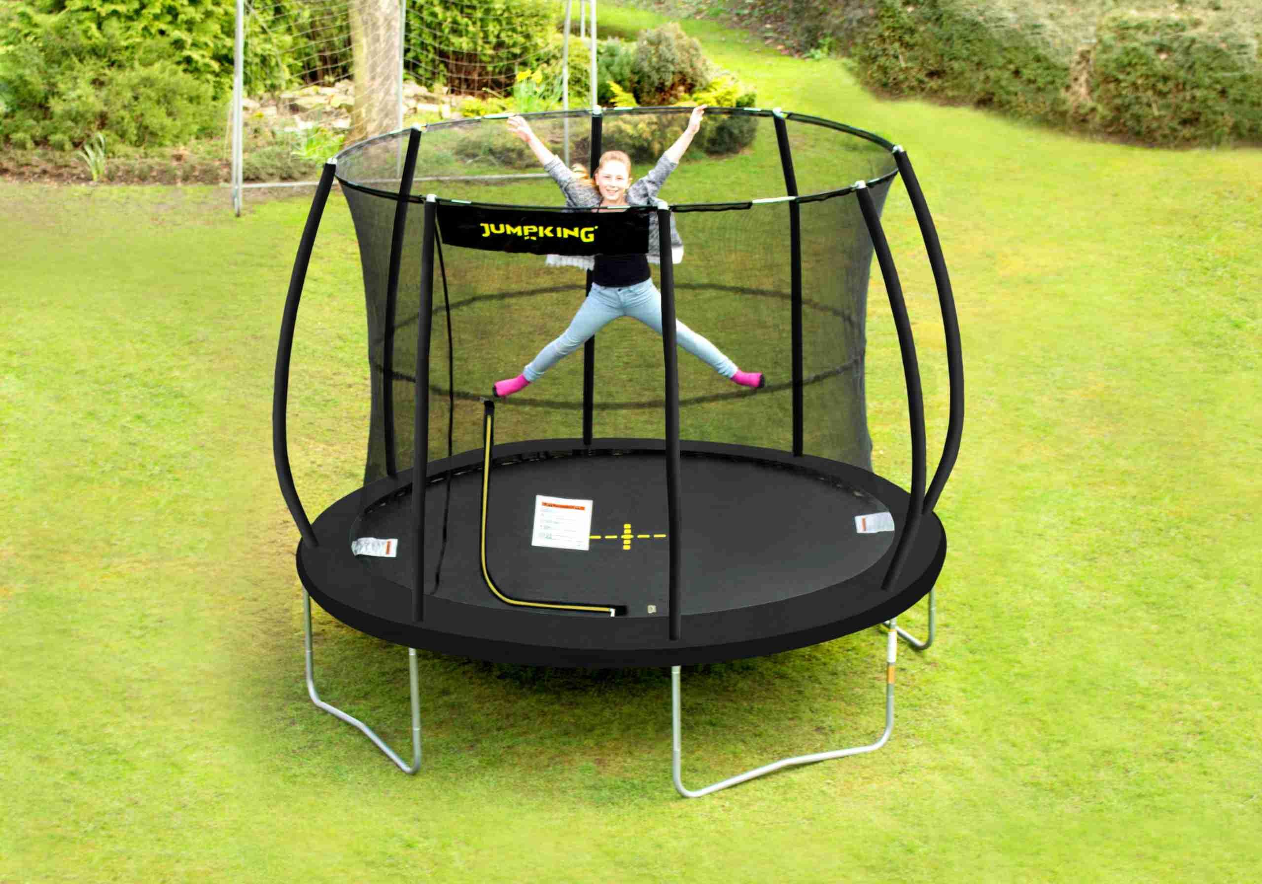 tappeto elastico jumpking nero