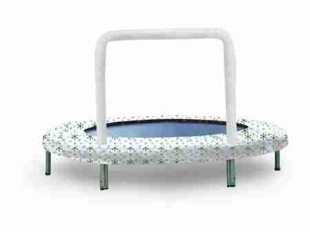 Mini trampolino bianco